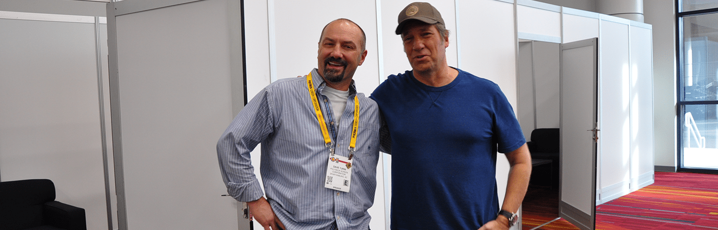 Mike Rowe and Dave Turin Meeting to Talk About Workforce Shortage